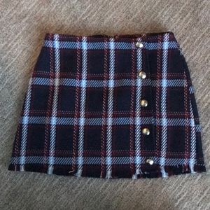 Brand new tweed schoolgirl skirt
